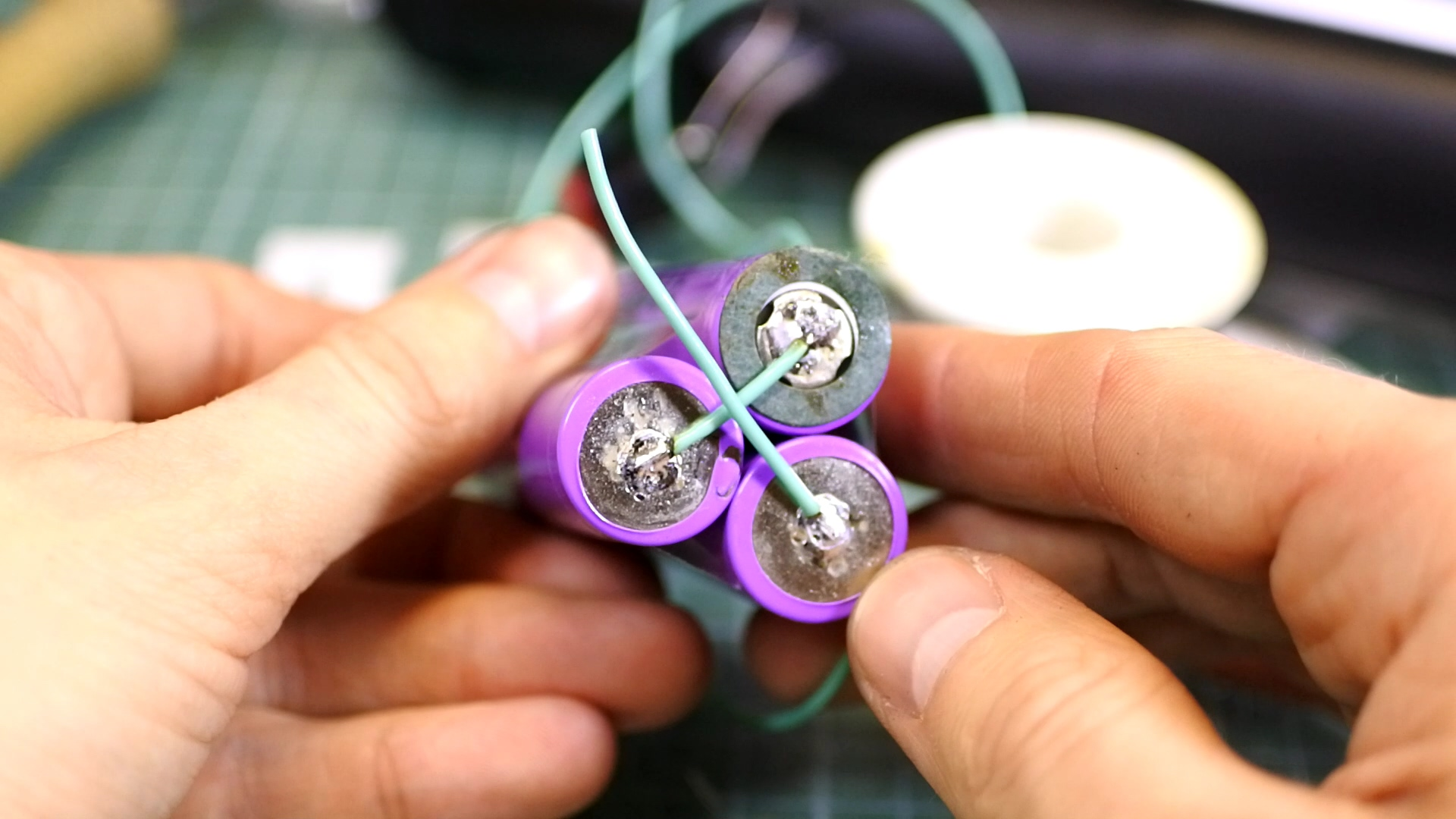 Picture of Soldering Batteries