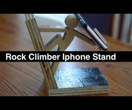 Rock Climber IPhone Dock