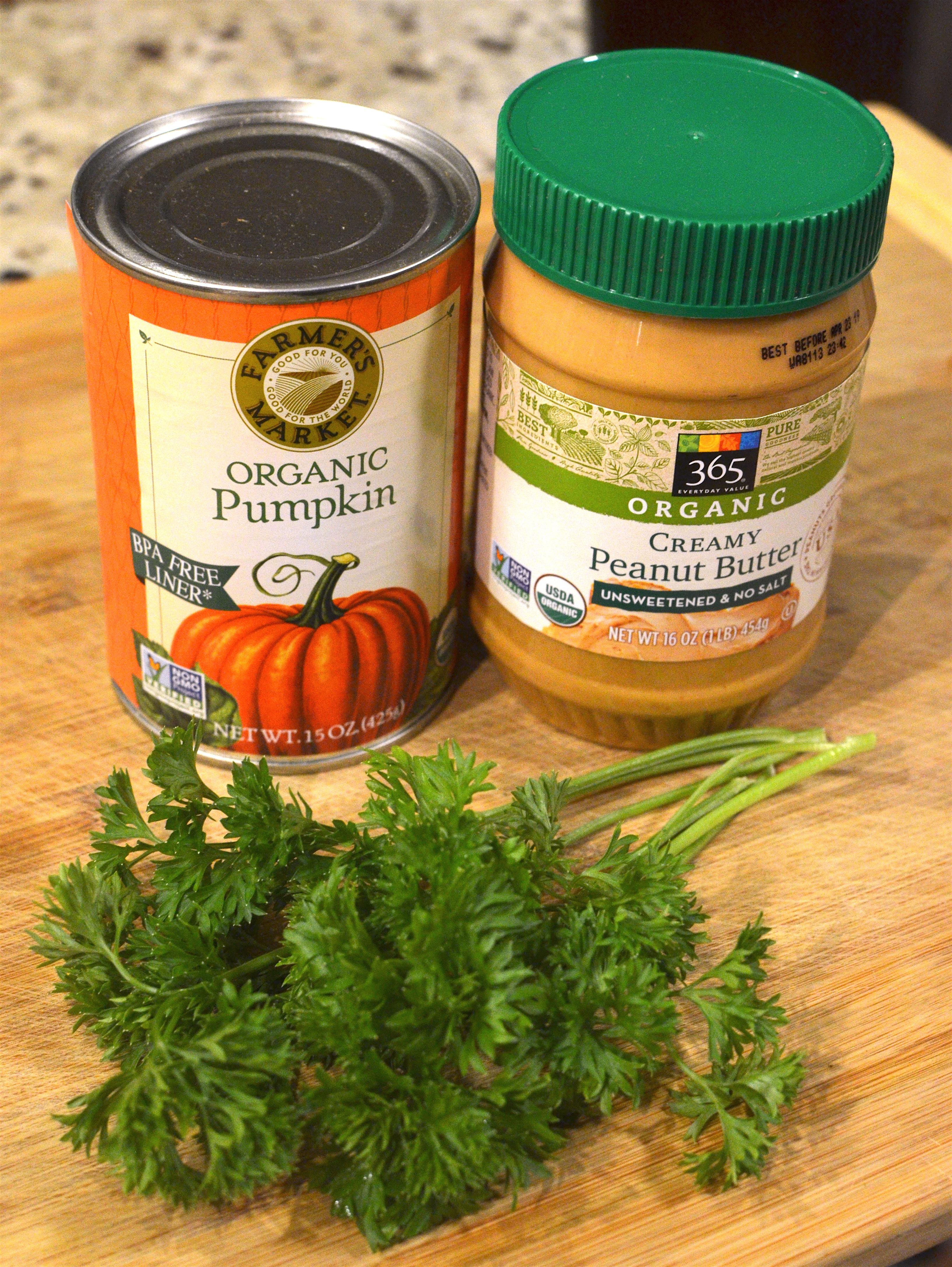 Picture of Prismo's Peanut Pumpkin Parsley Treats