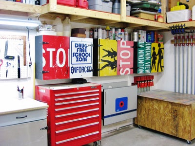 Easy Workshop Cabinets