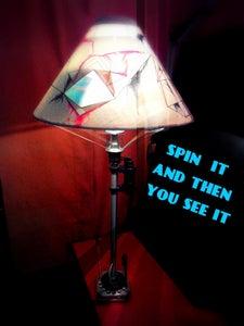 Moving Picture Generator Desk Lamp