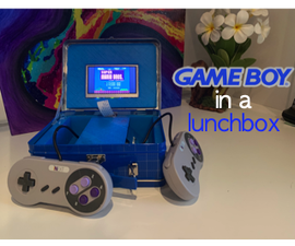 GameBoy in a Lunchbox