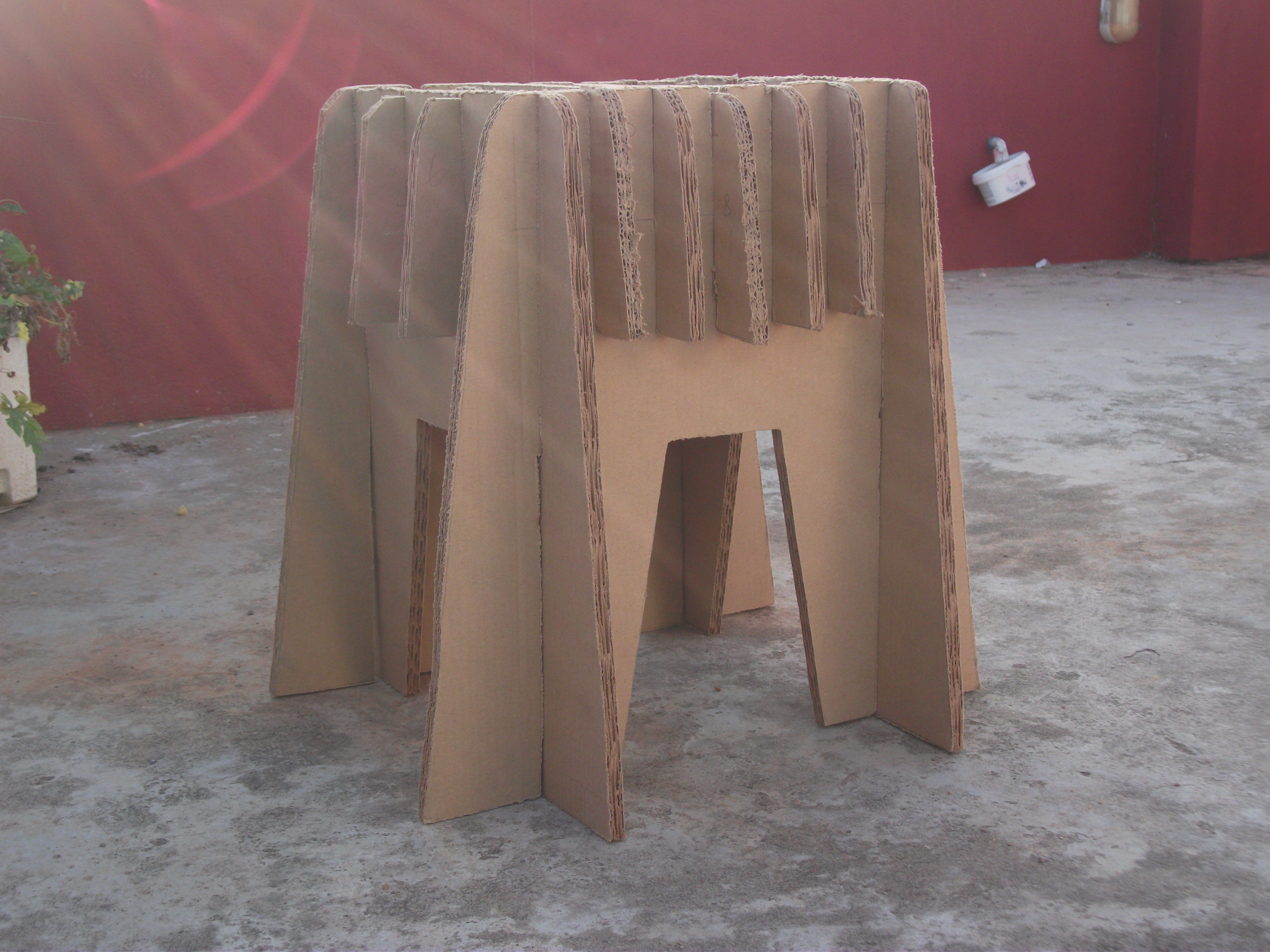 Picture of  Amazing Cardboard Stool