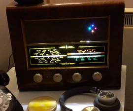 Google Home Mod - Into a Vintage Radio!
