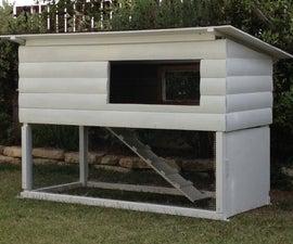Luxury Outdoor Rabbit Cage