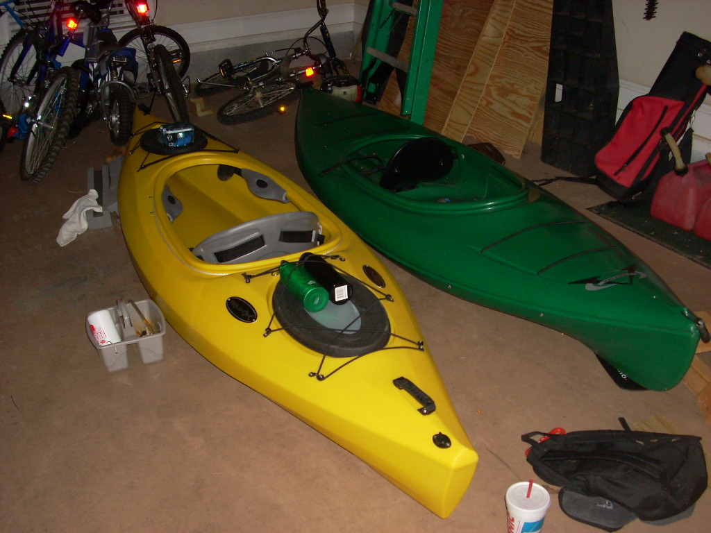 Picture of Preparing a Day- Touring Kayak