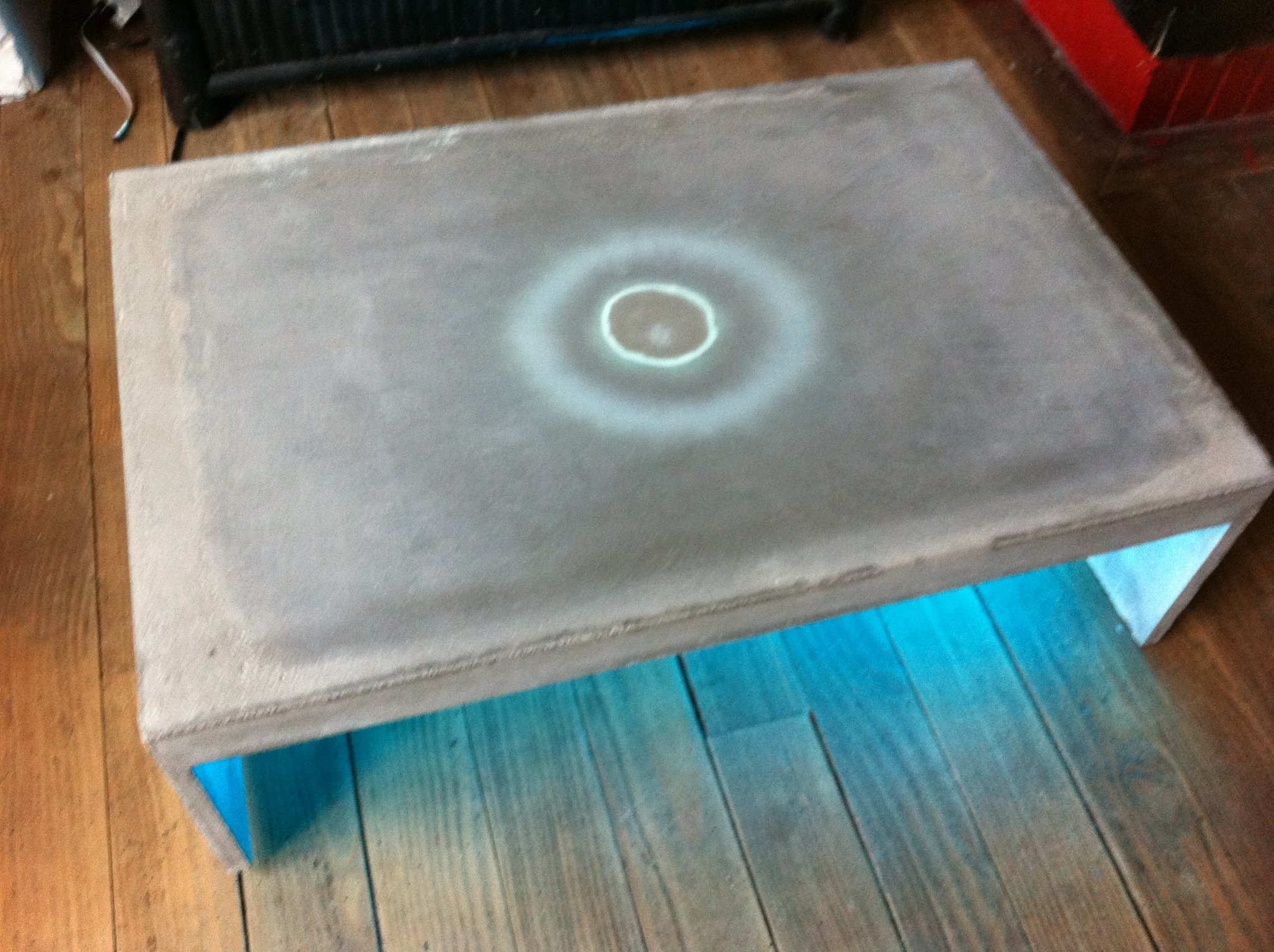 Picture of Low Table Concrete by FYB Design