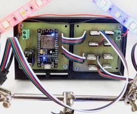 WiFi LED Light Strip Controller