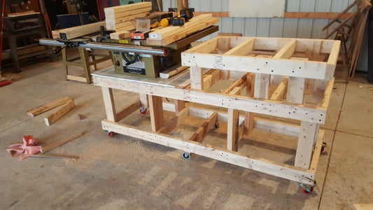 Woodworkers Bench Frame