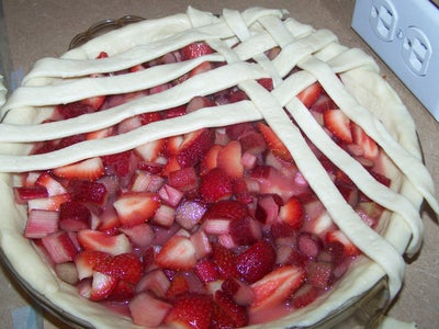 Lattice Top for Pie and Baking