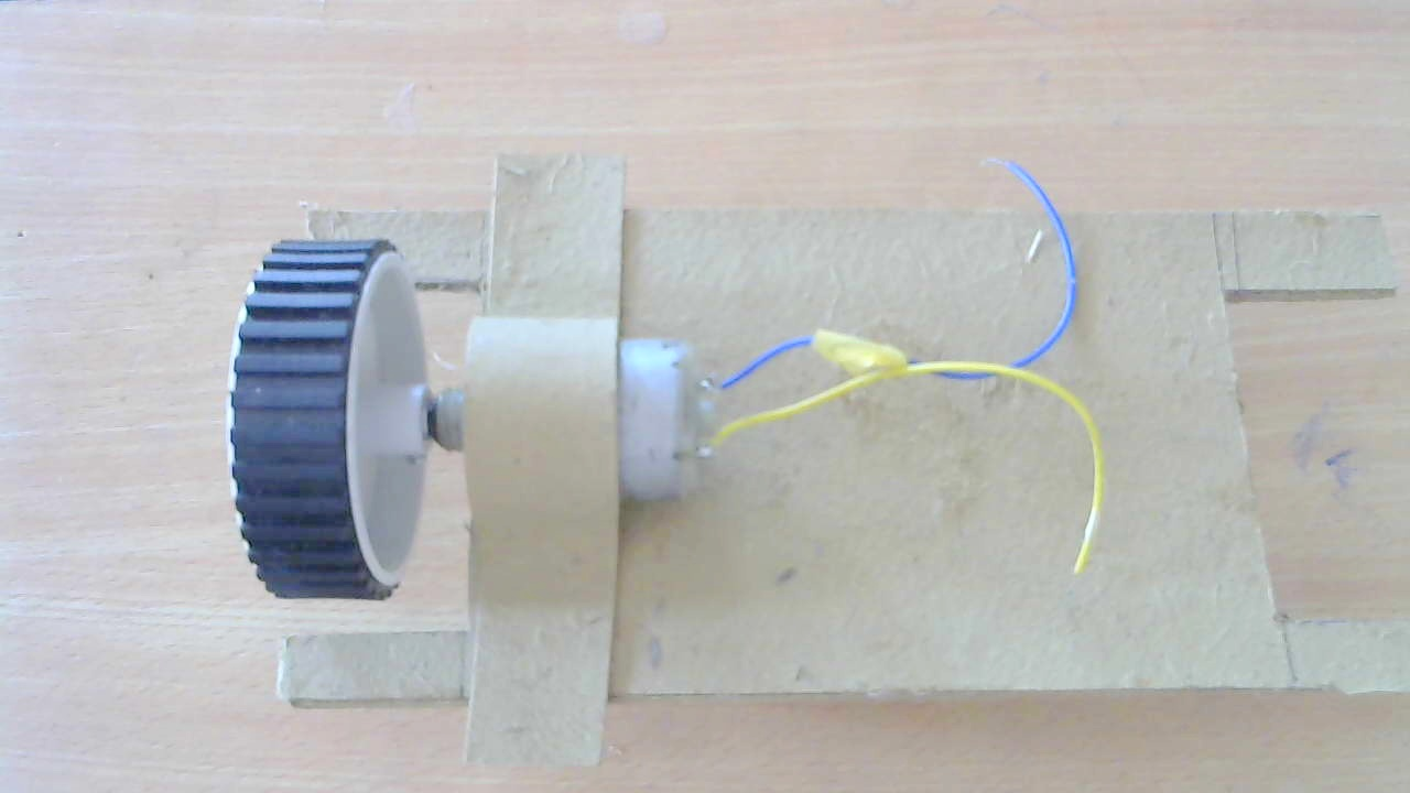 Picture of Attaching Motor to the Frame