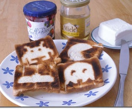 Mod a toaster and have retro art toast for breakfast