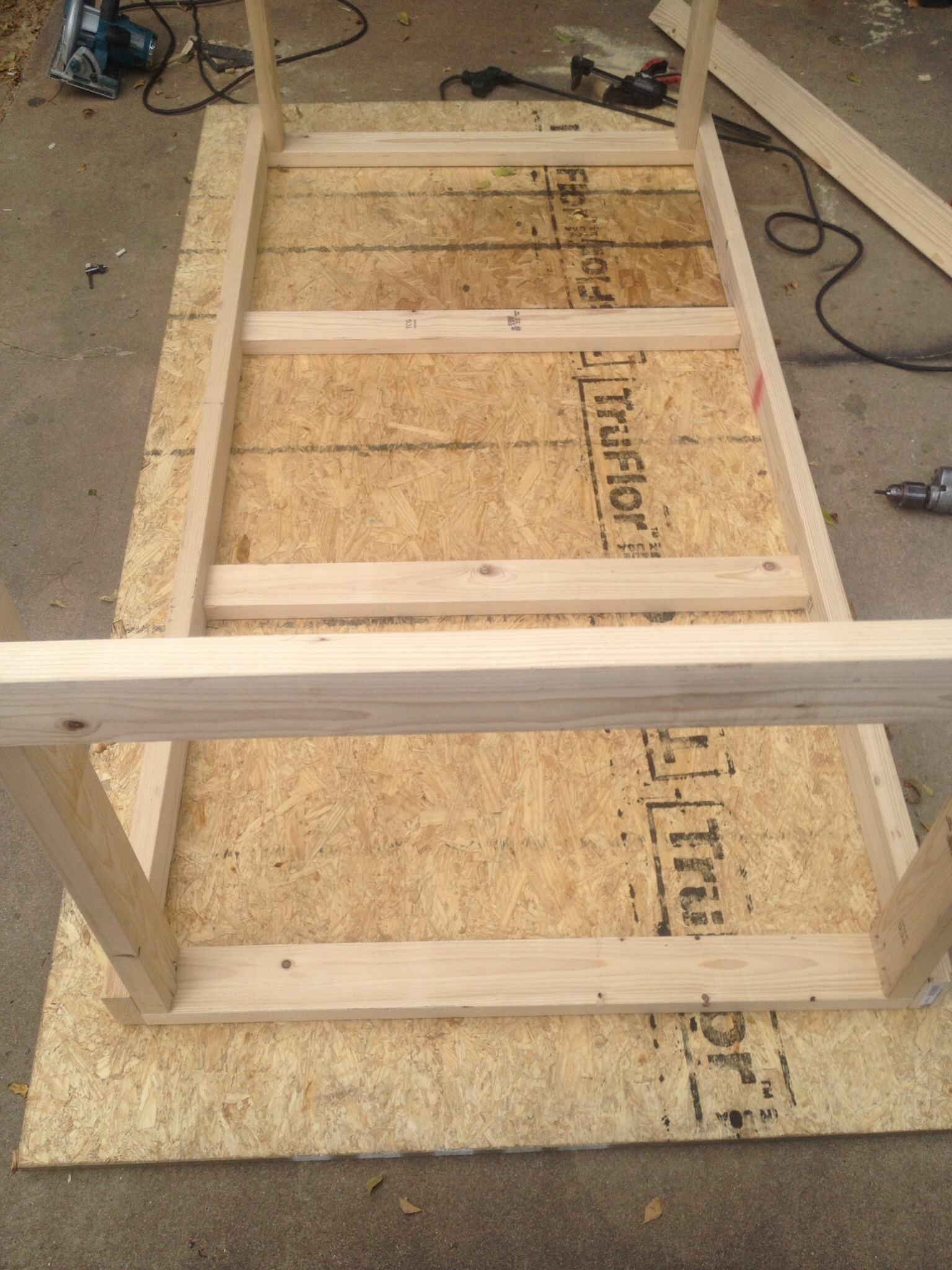 Picture of Frame Assembly (3/4) - Cross Beam Support (Surface Mounts)