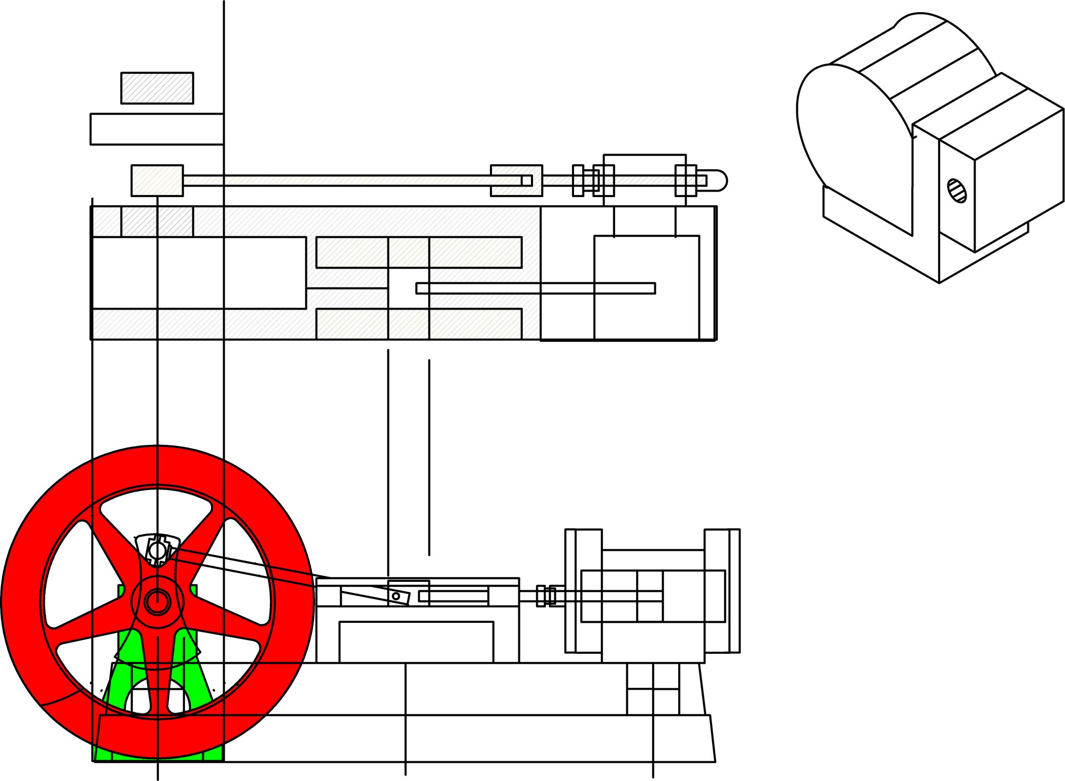 Technical Sketching And Drawing 7 Steps With Pictures Draw A Schematic Diagram