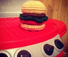 Crochet Play Hamburger