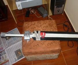 How to make Ragnarok the Crona's Sword (Soul Eater)