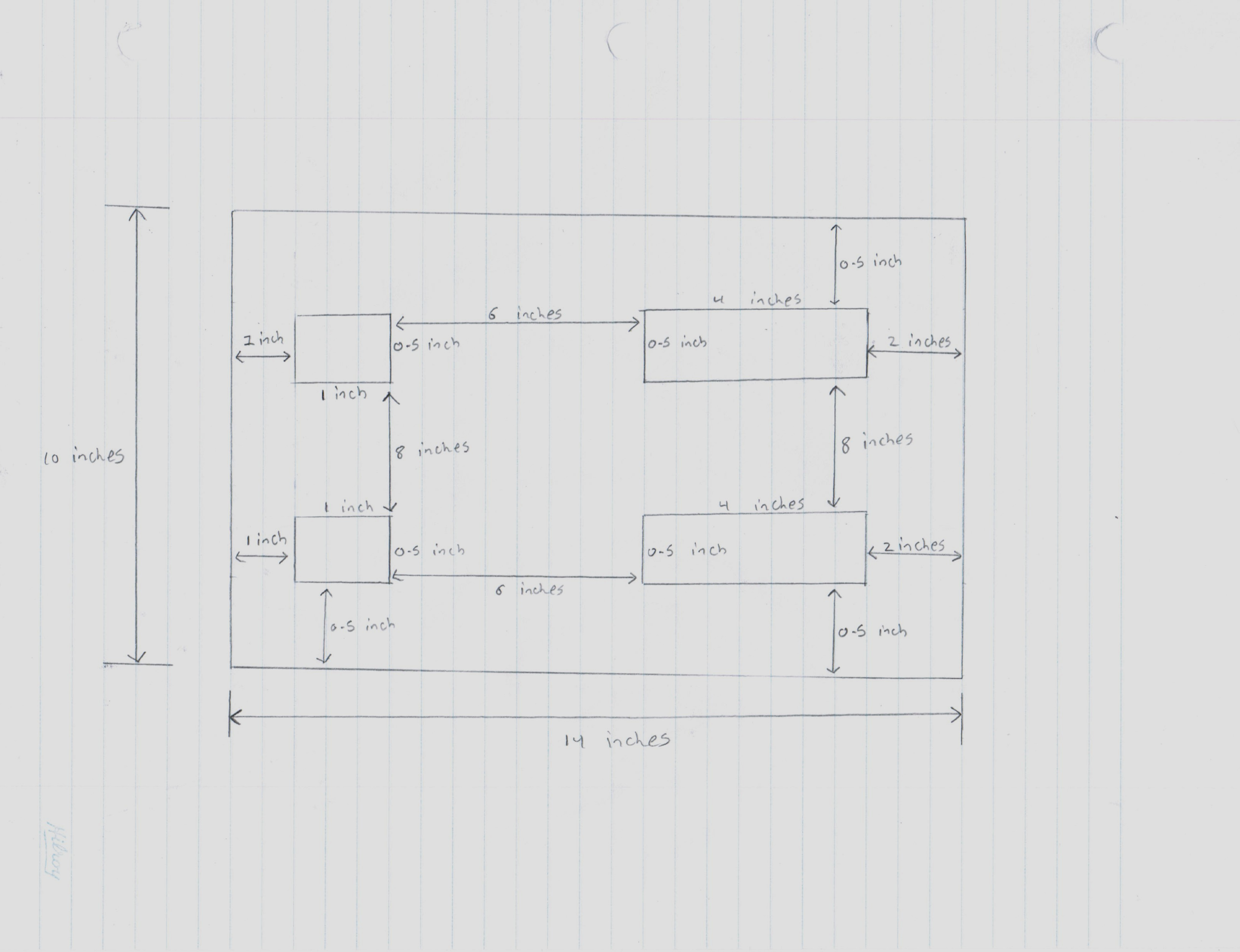 Picture of Design and Measurements : Top
