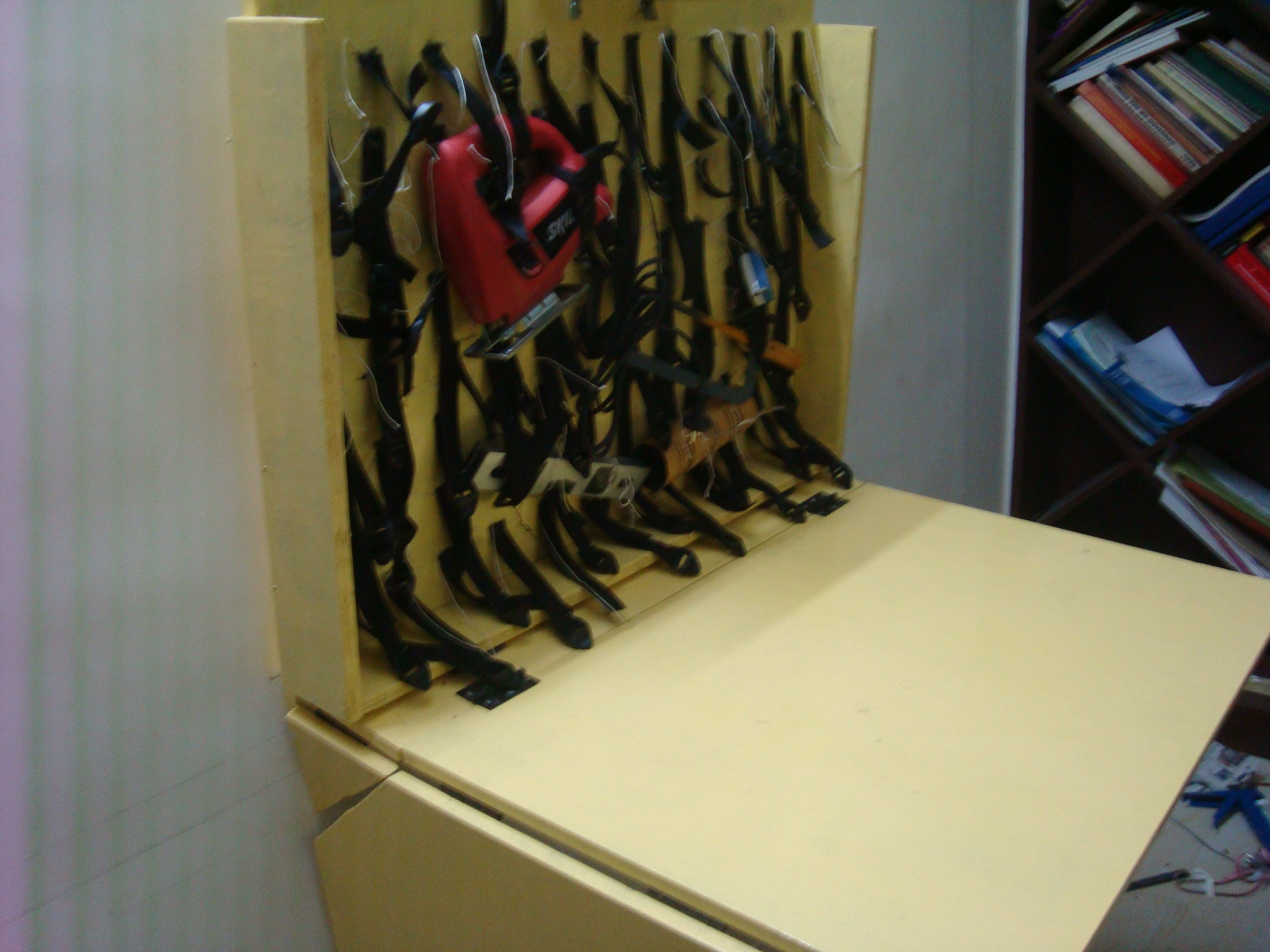 Picture of Zero-Space Flexible Tool Storage Workstation - Portable or Wall Mountable