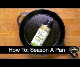 How to Season a Cast Iron Pan with SCIENCE!