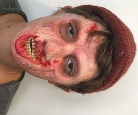 Making AWESOME Zombie Prosthetics!!!