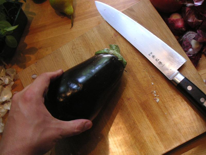 Picture of Eggplant (aubergine)