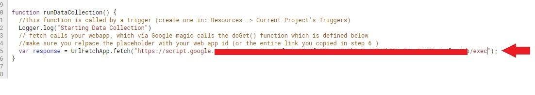Additional Information in Script