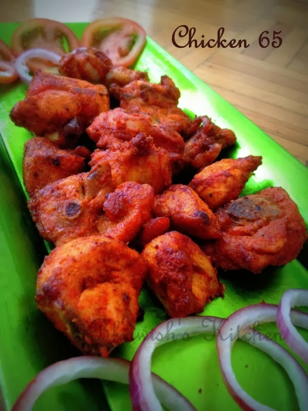 Picture of How to Cook Chicken 65 Using Tandoori Masala