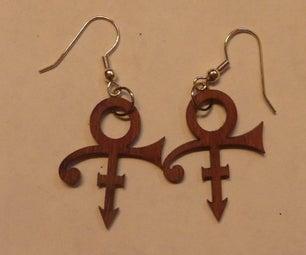 Purpleheart Earrings