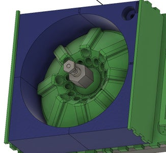 Assembly: Attaching Rotor and Spinner Screw