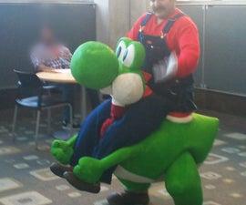 Super Mario Yoshi Rider Costume