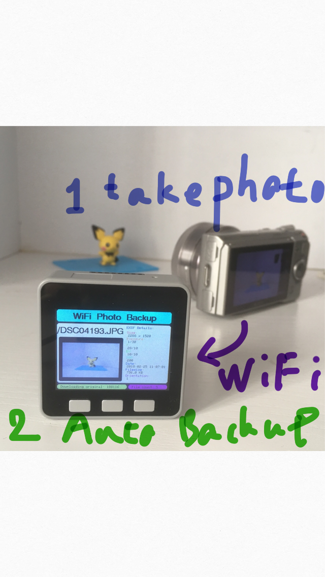 Picture of Arduino WiFi Photo Backup