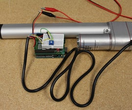 Controlling the Position of an Actuator with an Analog Sensor