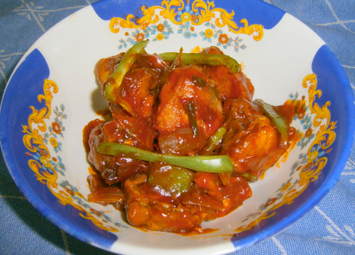 Picture of Nanking Chicken (Indo-Chinese Style)