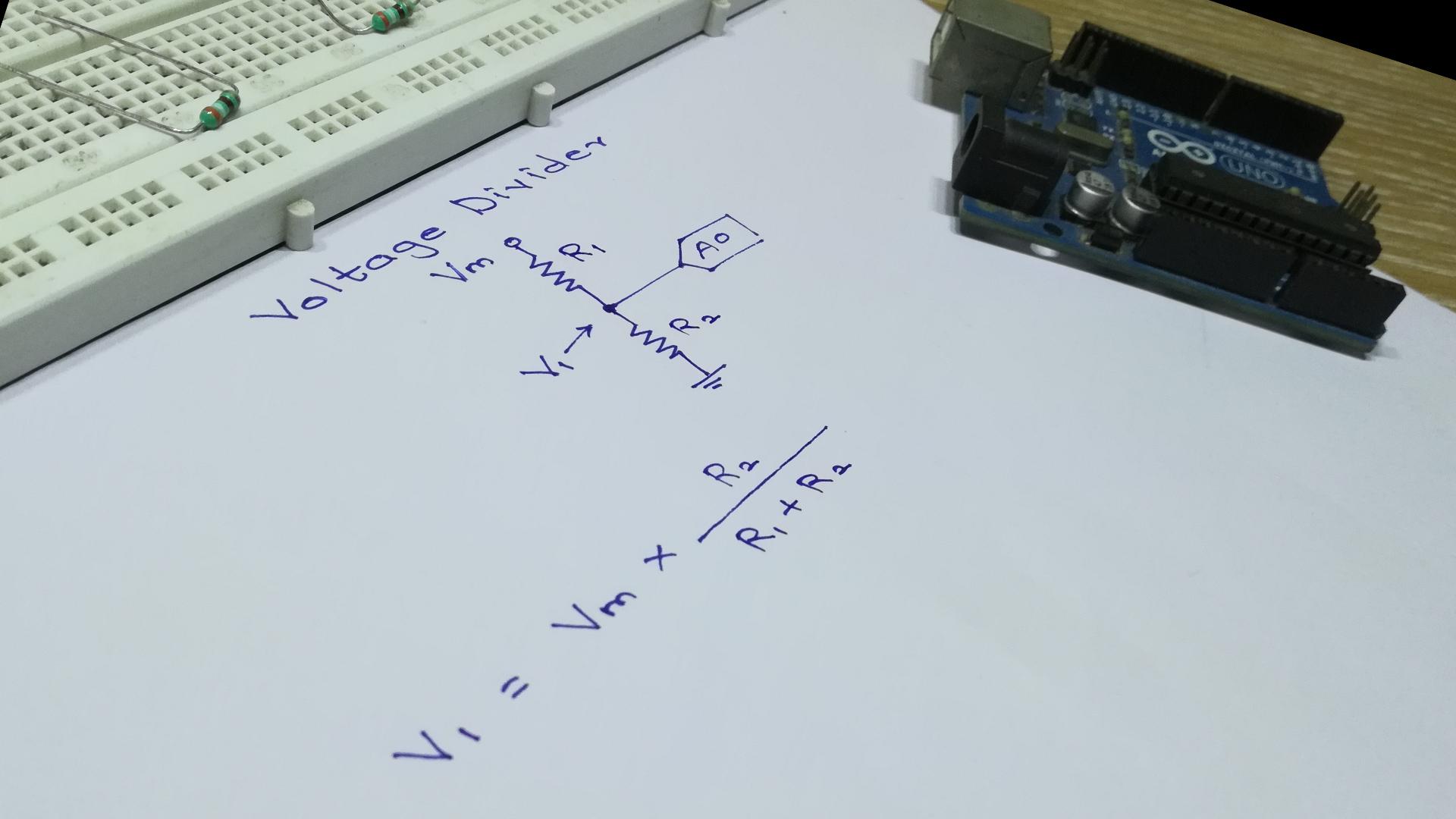 Picture of Measuring Voltage Above 5V