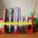 Classroom Desk Organizer Using Waste Material