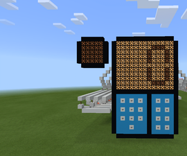 Redstone Addition Calculator in Minectaft