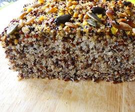 Tricolour Quinoa Chia Bread