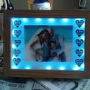 Illuminated Photo Wedding Gift