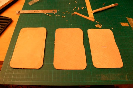 Transferring Your Design to the Leather