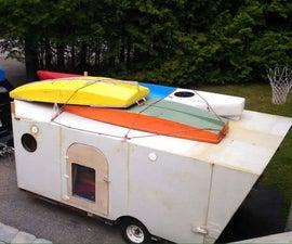 Mercury foam teardrop, how to build a foam teardrop trailer. rot proof, well insulated and super lightweight