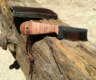 Pocket Knife From a File