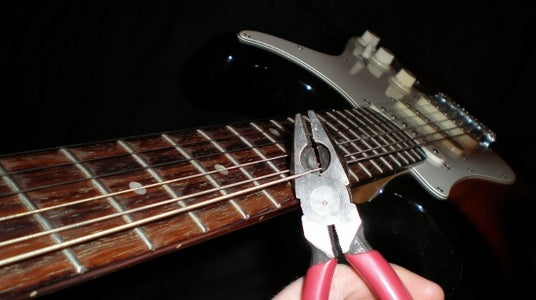 Cut and Remove the Low E String