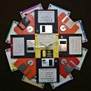 Make a Floppy Disk Wall Clock