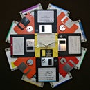 Make a Floppy Disk Wall Clock