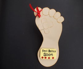 Feel better soon hand made card