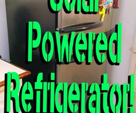 Solar Powered Refrigerator!