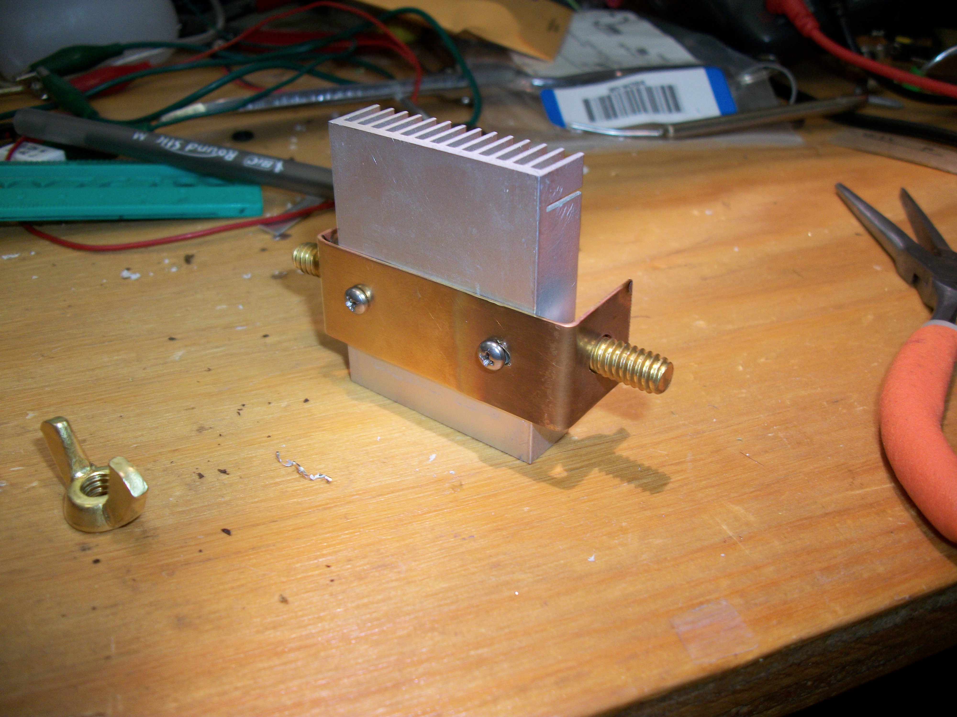 Picture of Drill and Tap the Heat Sink
