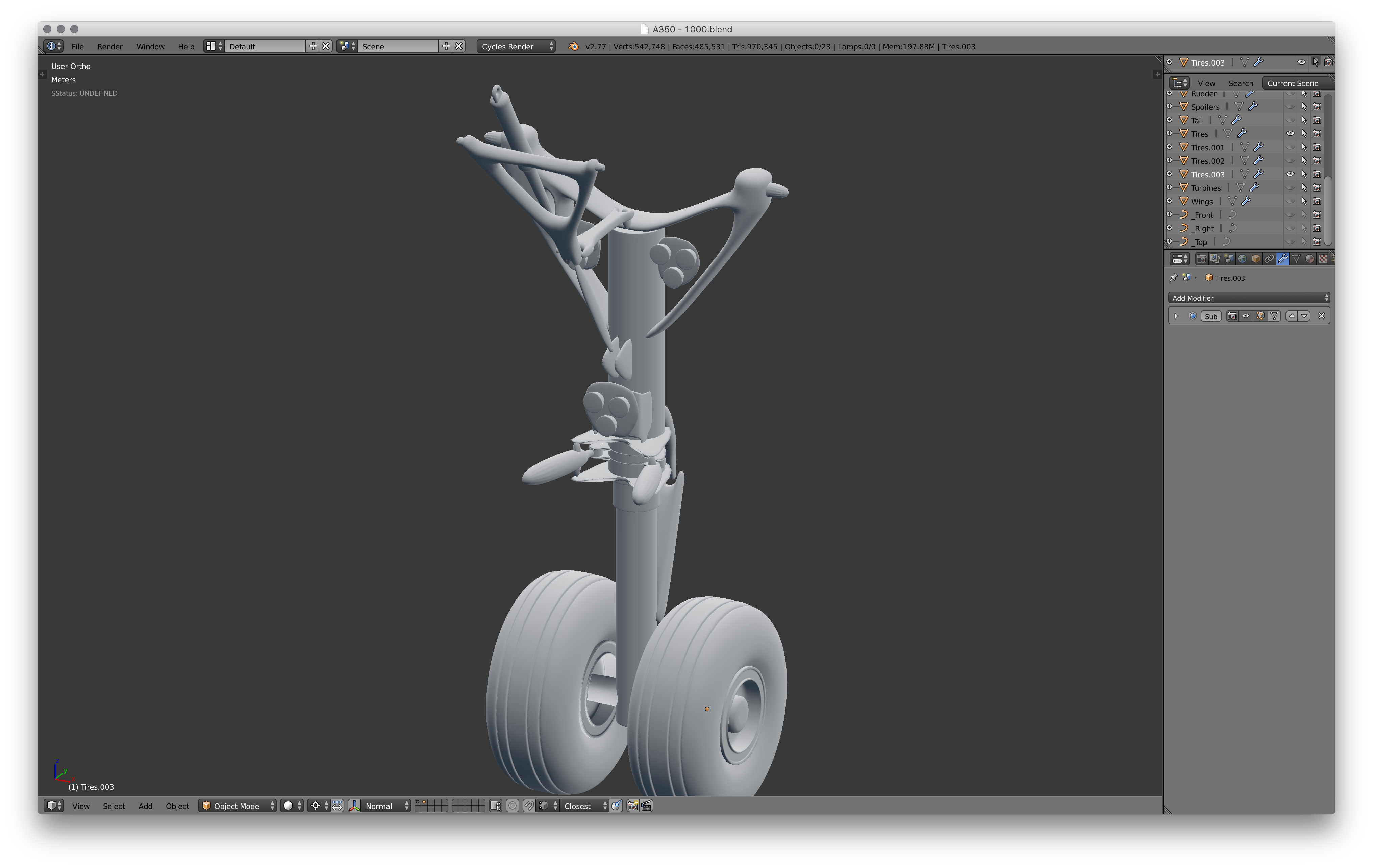 Picture of Front Landing Gear