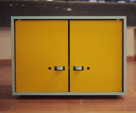 CNC Milled Storage Unit SU02