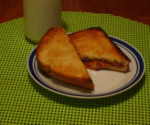 [Collegiate Meals] Broiled Peanut Butter and Jelly